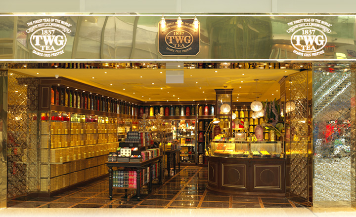 TWG Tea at Changi T3