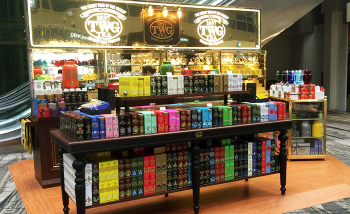 TWG Tea at Changi T3 Kiosk
