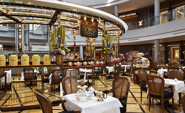 TWG Tea Garden at Marina Bay Sands
