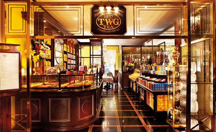 TWG Tea at Takashimaya L2