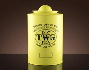 Saturn Tea Tin in Canary Yellow (250g)
