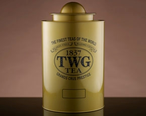 Saturn Tea Tin in Gold (1kg)