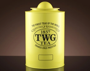 Saturn Tea Tin in Canary Yellow (1kg)
