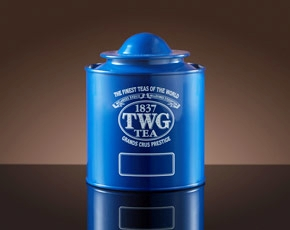 Saturn Tea Tin in Blue (100g)