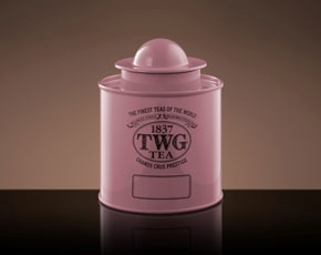 Saturn Tea Tin in Pink (100g)