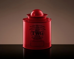 Saturn Tea Tin in Red (100g)
