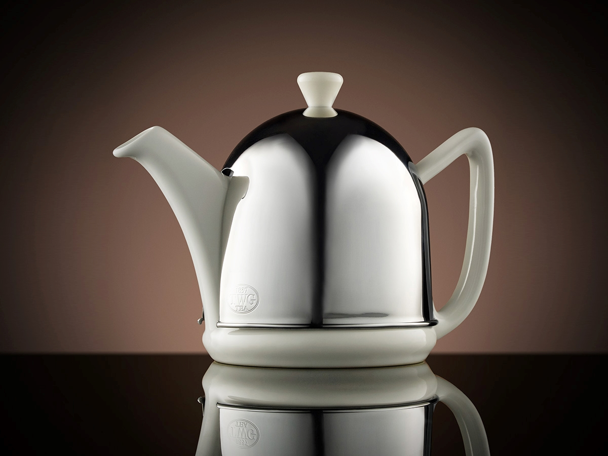 Dome Teapot in White