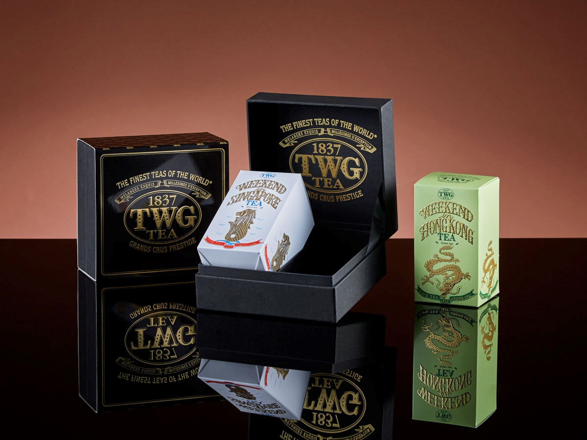 Weekend Spice Route Duo Tea Set