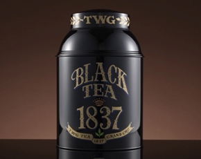 Collector's Tea Tin, 1837 Black Tea, 1kg