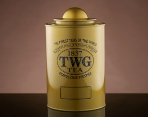 Saturn Tea Tin in Gold (250g)