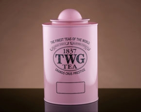 Saturn Tea Tin in Pink (250g)