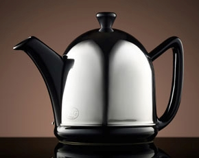 Dome Teapot in Black