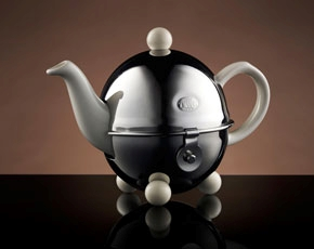 Design Teapot in White (180ml)