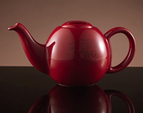 Design Orchid Teapot in Red (500ml)