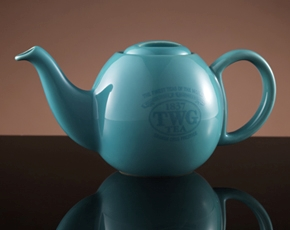 Design Orchid Teapot in Turquoise (500ml)