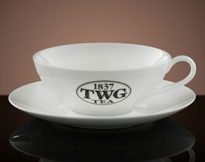 TWG Tea Afternoon Teacup & Saucer