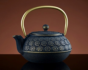 Sakura Teapot in Black