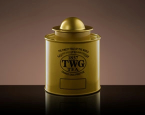 Saturn Tea Tin in Gold (100g)