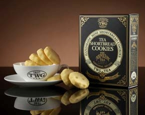 Napoléon Tea Shortbread Cookies